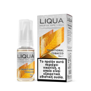 Traditional Tobacco 10ml Liqua