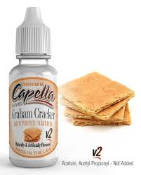 Graham Cracker V2 13ml Capella_4-smoke.gr­_cover