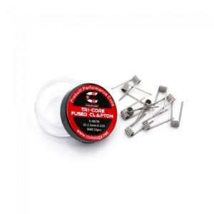 Tri-Core Fused Clapton Prebuilt Coil 10τμχ Coilology_4-smoke.gr_cover