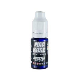Booster Νικοτίνης 10ml 20mg 70VG/30PG Mad Juice_4-smoke.gr_cover