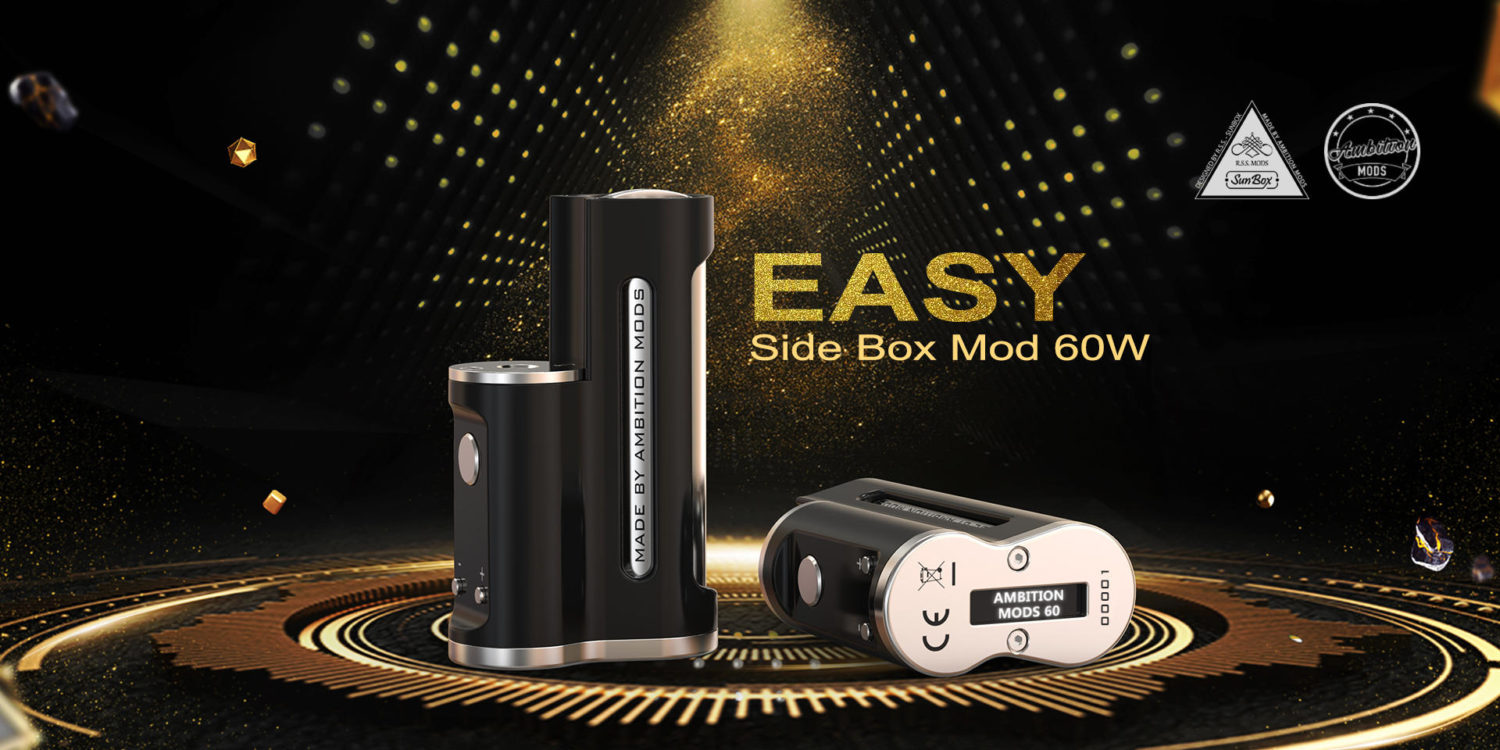 Easy Box Mod 60W Ambition Mods & Sunbox_1